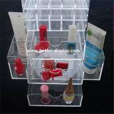 Schwarzer spinnender Lippenstift-Acrylaufsatz mit Pinsel-Halter