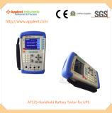 電圧測定の範囲0.0001V-60.000V (AT525)が付いている移動式電池のテスター