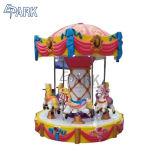 Carrusel de fibra de vidrio de 6 Escaños Ride Merry Go Round