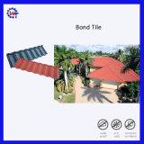 Mattonelle di tetto rivestite del metallo del tetto della pietra schiava dello strato