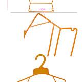 Ecológica de plástico de colores a los niños/niños ropa traje /percha
