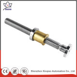 Componentes fazendo à máquina de giro do CNC do metal da ferragem