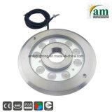 Unterwasserlampe des Brunnen-27W des Licht-IP68 RGB LED