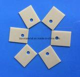 Alta conductividad térmica la pieza de nitruro de alúmina de piezas de cerámica aislante Aln