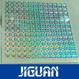 Autocollant d'hologramme personnalisé, la contrefaçon des étiquettes laser 3D