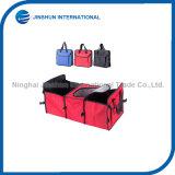 Saco Foldable durável Multifunctional do refrigerador do organizador do tronco 600d
