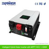 Zlpower preço favorável para DC AC onda senoidal pura Carregamento solar Grade Desligado Inversor Híbrido 3000W