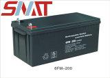 Batterie solaire 12V 200Ah Batterie Gel pour le système d'alimentation solaire