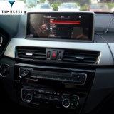 "Timelesslong Andriod 차 BMW X1 F48 (GPS/WiFi (TIA-209)를 가진 2016-2017년) 본래 Nbt 시스템 10.25를 위한 오디오 DVD 플레이어 GPS 항법 "" OSD 작풍"