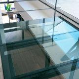 Le verre trempé, verre feuilleté, usine de verre de construction