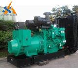 тепловозный комплект генератора 300kVA с комплектом генератора Чумминс Енгине привел в действие