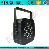 12*10W RGBW 4NO1 Indoor Shell de ferro por luz CAN