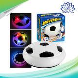 Passe o mouse Soccer música LED piscando futebol flutuante de ar com portão de futebol para a Copa do Mundo de Desportos dons de brinquedos para crianças