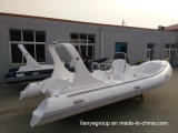 Liya 6.2m Inflatable Dinghy Hypalon cladding Semi rigid Inflatable Boat