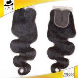 Toupee suíço do cabelo humano do laço da alta qualidade para mulheres pretas