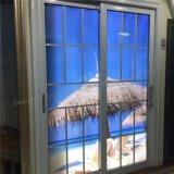 Puerta de vidrio de desplazamiento de aluminio del hardware barato al por mayor de la fábrica