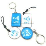 밧줄로 에폭시 NFC 꼬리표가 RFID 징표에 의하여 표를 붙인다