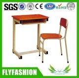 Escritorio y silla (SF-41S) de la escuela de los muebles de la sala de clase solos