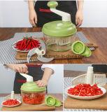 Многофункциональная, котор держат тяпка еды Vegetable Slicer ручная скоростная