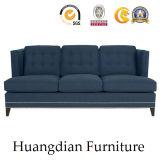 Divan moderne de sofa de tissu de marine de sofa de salle de séjour (HD540)