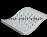 Placa de aluminio curvada perforada del sólido blanco del color 2.5m m para las paredes del metal