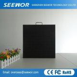 P4 de haute qualité à l'intérieur du panneau affichage LED en couleur avec module 256*128 mm