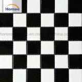 Blanco y Negro mosaico de porcelana fina Piscina estándar las baldosas de cerámica