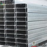 L'acciaio galvanizzato ha profilato il blocco per grafici della sezione del metallo dei Purlins del tetto di C