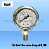 Anti-Corrosion 50mmすべてのステンレス鋼圧力メートル