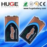 bateria alcalina 6lr61 de bloco de bolha de 9V 1PCS