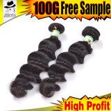 Produto de cabelo indiano da alta qualidade de Kbl