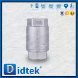 Didtek roscada de acero inoxidable Dúplex la válvula de retención de elevación