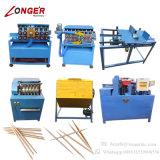 Linha de produção industrial Toothpick de madeira do Toothpick que faz a máquina