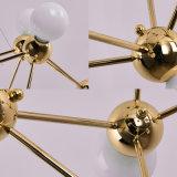 Recentste & Populair Hotel of de Woon Moderne Gouden het Hangen Lichte Verlichting van de Lamp van de Tegenhanger voor Slaapkamer