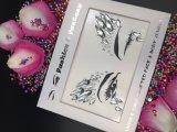 Newset 피부 안전한 당 눈 스티커 아크릴 모조 다이아몬드 백색은 장식용 목을 박는다 바디 보석 마스크 스티커 (E10)를