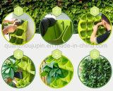 Mur en plastique OEM Écologisation verticale s'assemblant la plantation de pot de fleurs