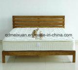 固体木のベッドの現代ダブル・ベッド(M-X2299)