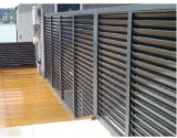 Casa inteligente sistema de seguridad contra incendios y de aleación de aluminio Persianas para la ventana