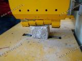 Macchina di scissione di pietra idraulica per le pietre del cubo del ciottolo del marmo del granito (P95)