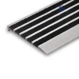 Sospecha de aluminio de la escalera del resbalón del carborundo de la nariz anti de la escalera