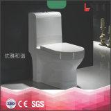 Toalete cerâmico Siphonic dos mercadorias sanitários da alta qualidade um Wc do toalete do armário da parte