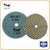 3 -4 Polegada Diamond Almofada de polir a seco para o granito /Marble