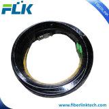 Tresse imperméable à l'eau de câble optique extérieur de fibre de 4 faisceaux