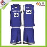 Basketball-Jersey-Klage-gute Qualität des neuen Produkt-2017 sublimierte