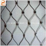 Edelstahl X-Neigen Drahtseil-Ineinander greifen/Handwoven Seil-Ineinander greifen