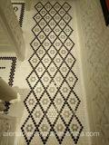 Bienenwabe-sechseckige weiße keramische Mosaik-Fliese 2017 der Weinlese-23*23mm für Dekoration