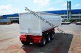 Cimc 50cbm穀物のダンプのトレーラトラックシャーシ