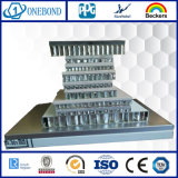 Couche PVDF aluminium Panneau alvéolé pour la décoration