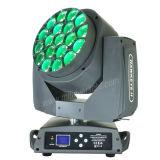 LEDズームレンズが付いている移動ヘッド19X15W RGBW蜂の目