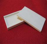 Plaque plate en céramique de poseurs de Zirconia réfractaire de 95%